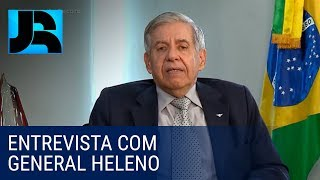 Exclusivo R7: Confira a entrevista completa do general Augusto Heleno