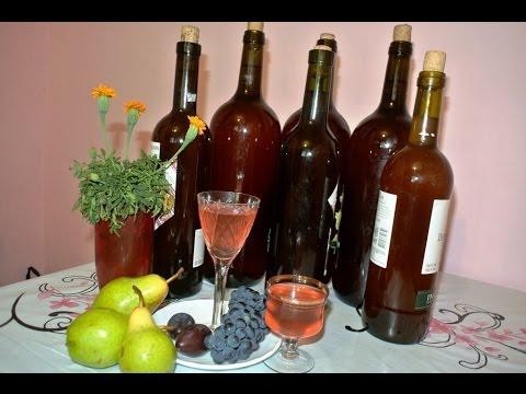 Домашнее вино из чайной розы.