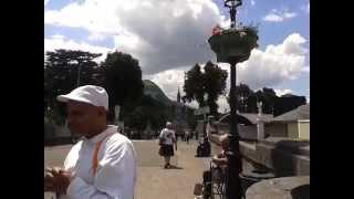 15.6.204 Lourdes Church..France..Compassionate activity.