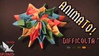Dude's Daily Origami - Fuochi D'artificio (tutorial In Italiano)