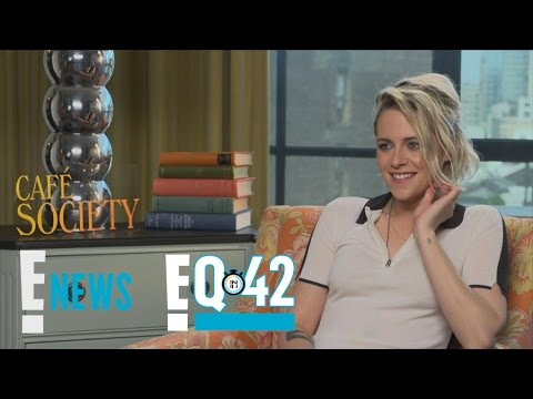 Kristen Stewart Takes the E!Q in 42 | E!Q in 42 | E! News