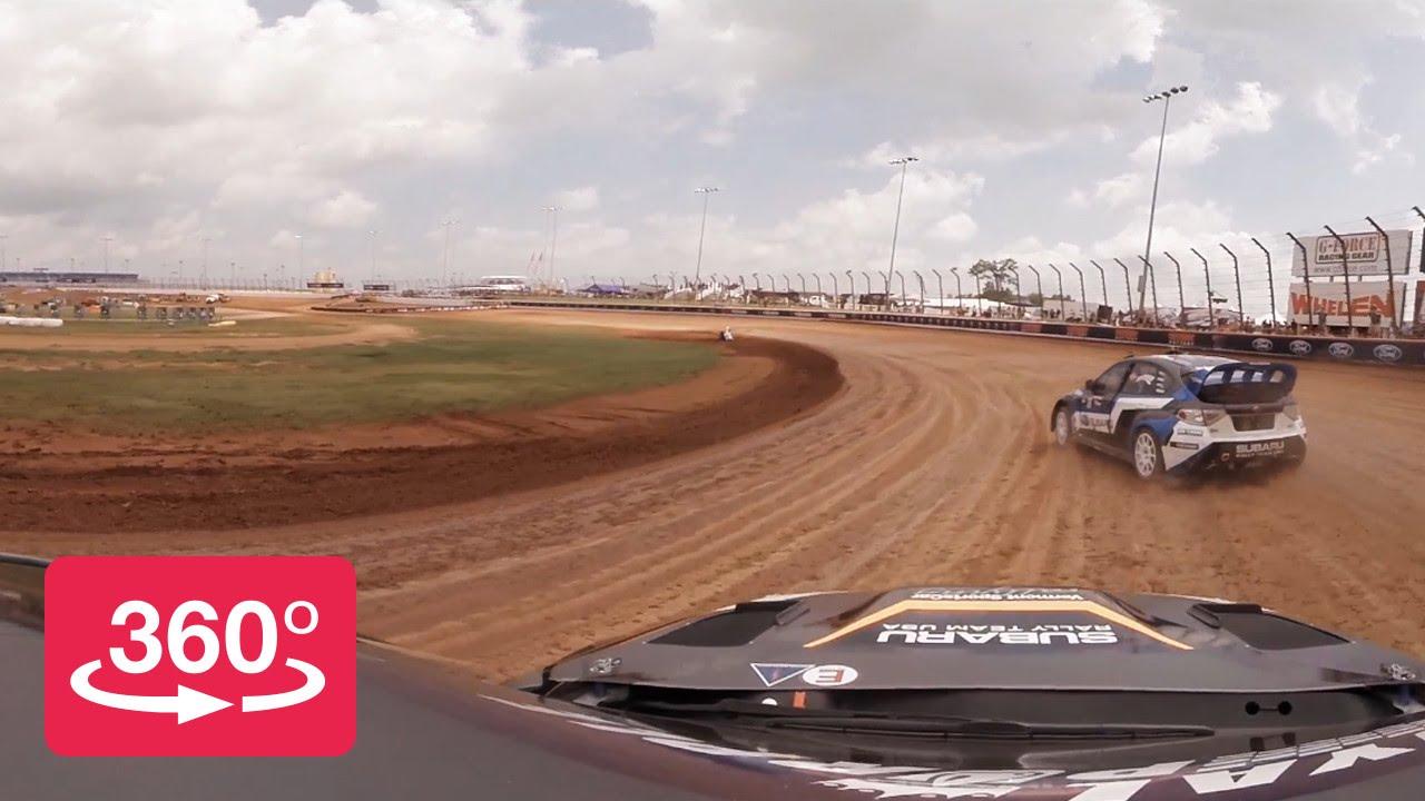 360º – 2014 Red Bull Global Rallycross Charlotte - YouTube