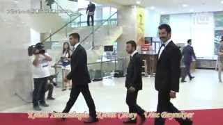 Kenan İmirzalıoğlu, Kerem Ç & Uluç B -  Seoul International Drama Arwards Red Carpet- 2012