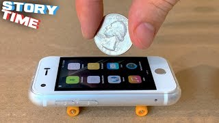 The First Real Mini iPhone Fingerboard | StoryTime with Spencer Ep.1
