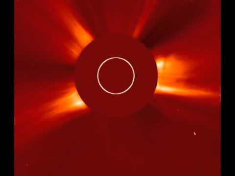 Filament Eruption CME (Lasco Movie) - Sept 2