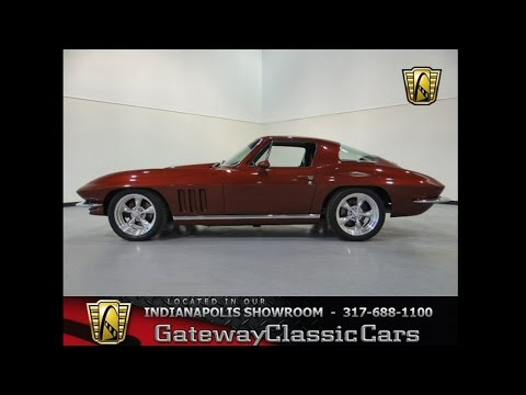 1965 Chevrolet Corvette Resto - Mod - #200-ndy - Gateway Classic Cars - Indianapolis
