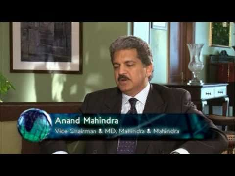 World Business: Interview with Anand Mahindra 26/11/2010