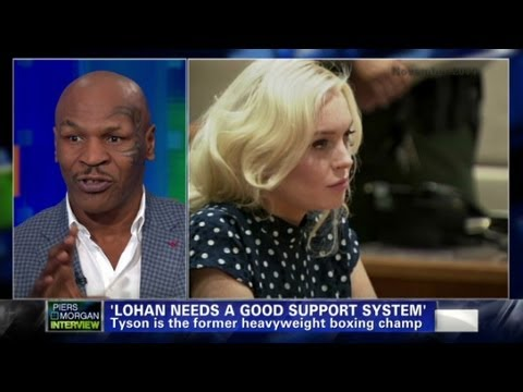 Mike Tyson on Lindsay Lohan