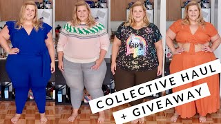 Collective Plus Size Haul + A Chance For You to Win Free Jeans!