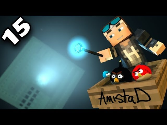 ⚡️ANGRY MINECRAFT Part 15 - [Angry Birds 3D Minecraft Animation Movie]