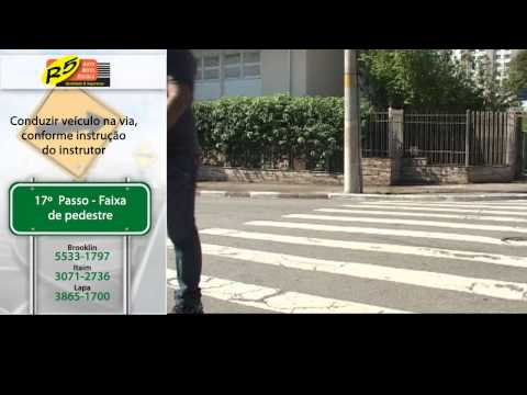 Vídeo de instrução para a prova prática (completo) - R5 Auto Escola