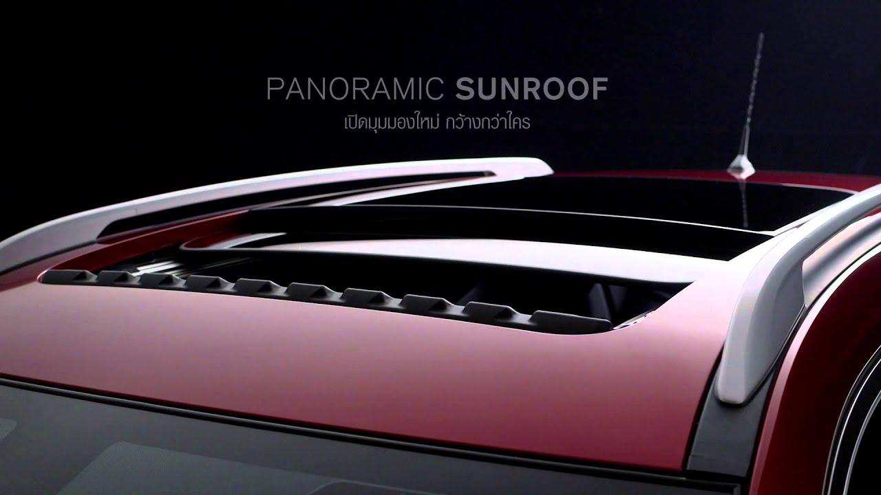 Nissan X Trail Panoramic Sunroof Youtube