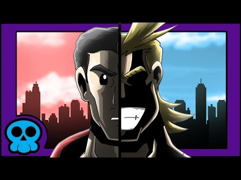 All Might vs Superman (Animated) | Tracing the Border #14