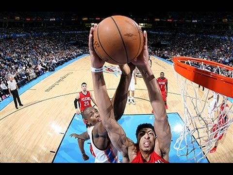 Anthony Davis Scores 38 Points in Win Over Thunder