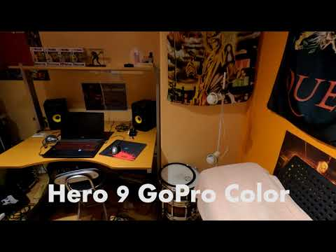 Is the Hero 9 Flat really Flat? GoPro color vs Flat profiles