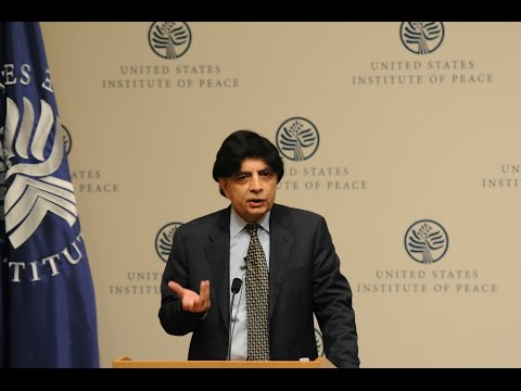 Pakistan's Interior Minister on New Plans to Counter Terrorism