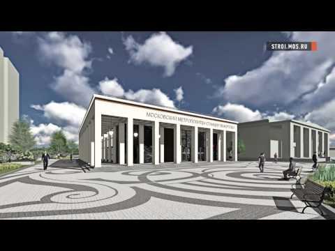 Прямо сейчас: строится станция метро Лефортово - YouTube
