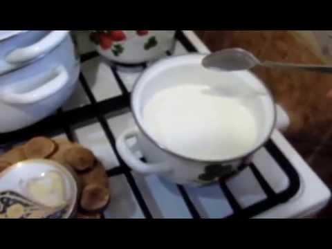 Манная каша. Видео. Как приготовить манную кашу.