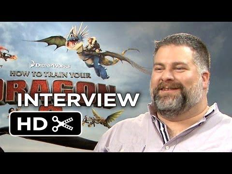 How To Train Your Dragon 2 Interview - Dean DeBlois (2014) - DreamWorks Animation Sequel HD