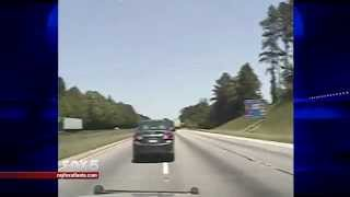 Dash cam video from deadly chase along I-85