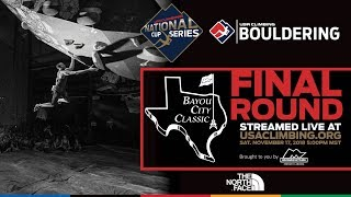 2018 Momentum Silver Street Bayou City Classic ? USA Climbing National Cup Series