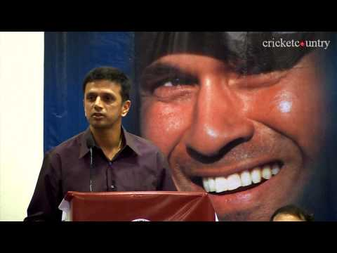 Rahul Dravid recalls the first time he watched Sachin Tendulkar bat