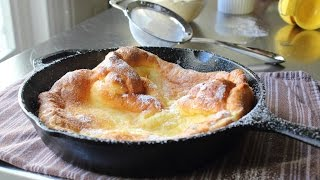 Dutch Baby Recipe - How to Make Dutch Babies - German Pancakes