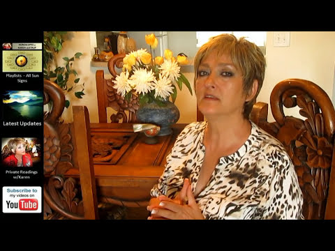 SCORPIO - OCTOBER  2014 Astrology Forecast - Karen Lustrup