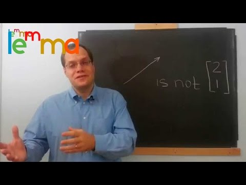 Linear Algebra Video 3c: Treat Objects on Their Own Terms!