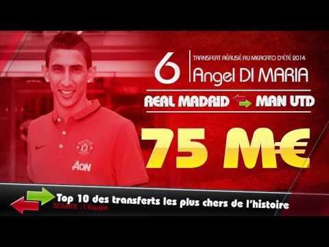 Di Maria, Rodriguez, Suarez... Top 10 des transferts les plus chers de l'histoire !