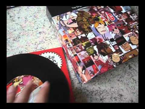 "Unboxing Gorillaz The Singles Collection Ltd 7"" Box Set"