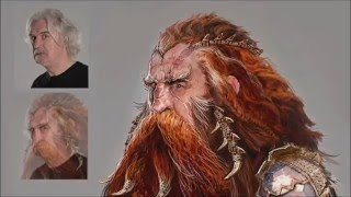 The Hobbit 3 E.E Extras Dain Ironfoot bst part I
