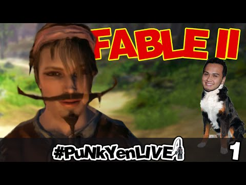 #PuNkYenLIVE - Fable II ft Billy Kroford - Partie 1