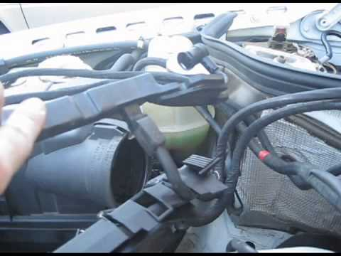 1994 Mercedes E320 Engine Wiring Harness Replacement (W124 chassis. M104 engine)