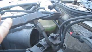 1994 Mercedes E320 Engine Wiring Harness Replacement (W124 chassis, M104 engine)