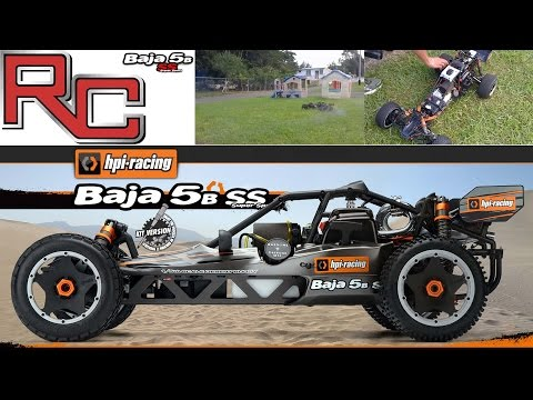 RC Baja Buggy (1/5) On A Rampage ☆*:.。. O(≧▽≦)o .。.:*☆