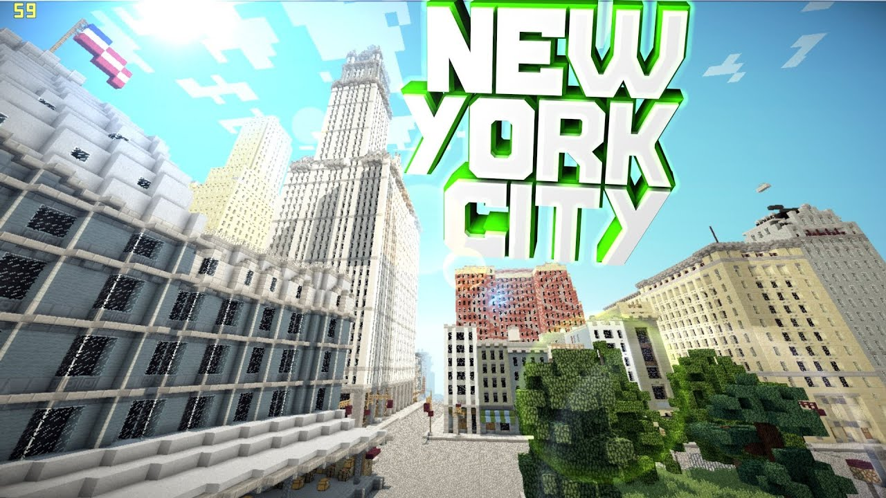 0.8.1]minecraft pe New York