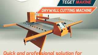 GYPSUM BOARD CUTTING MACHINE 2
