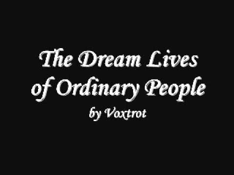Voxtrot - The Dream Lives of Ordinary People