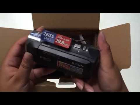 Unboxing / Review / Video Test / Sony HDR-CX240