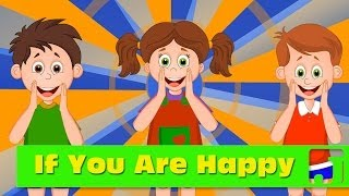 If You Are Happy | Nursery Rhymes | Children songs