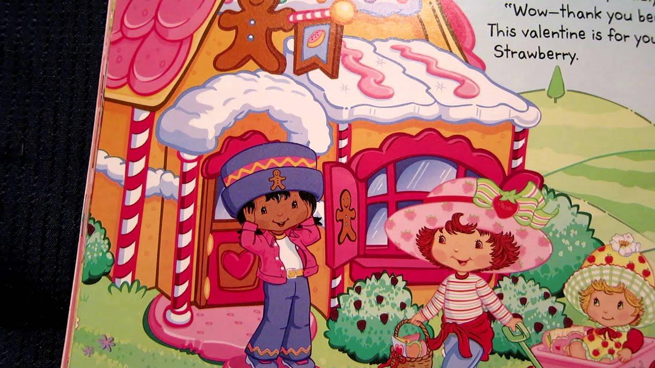 Strawberry Shortcake Be My Valentine Read Aloud Story Book