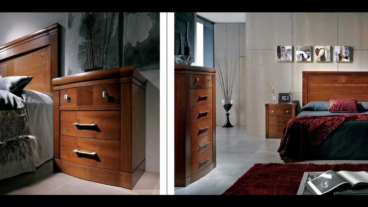 Muebles Nogal y Caoba Dormitorios Clásicos  YouTube