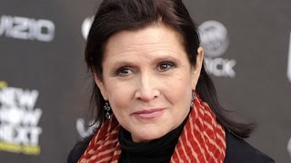 Carrie Fisher's Final Posts Left Her Social Media Followers Worried