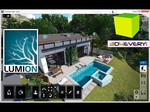 Seleccionar, mover, copiar y mucho mas en Lumion Pro 4