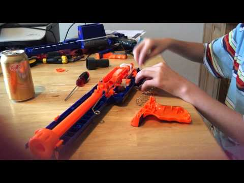 How to put a rampage nerf gun together