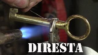 ✔ DiResta Brass Key for Pad Lock