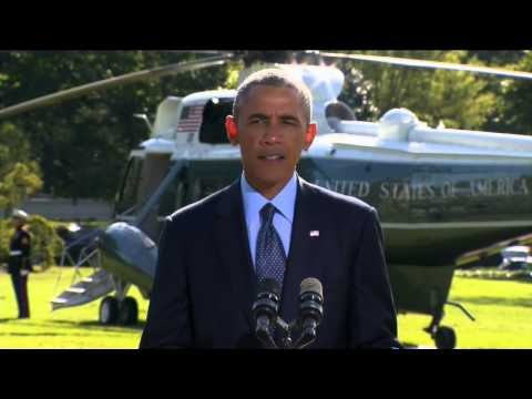 President Obama's statement on airstrikes against ISIS in Syria