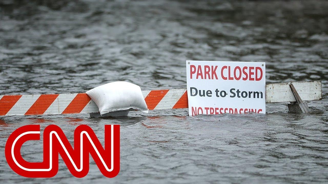 Hurricane Florence makes landfall in North Carolina