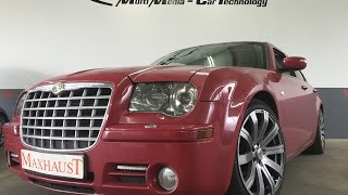 Chrysler 300C 3.0CRD and MAXHAUST Active Sound Soundbooster